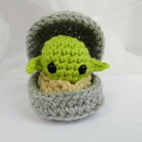 New Baby Yoda. Desk Toy.